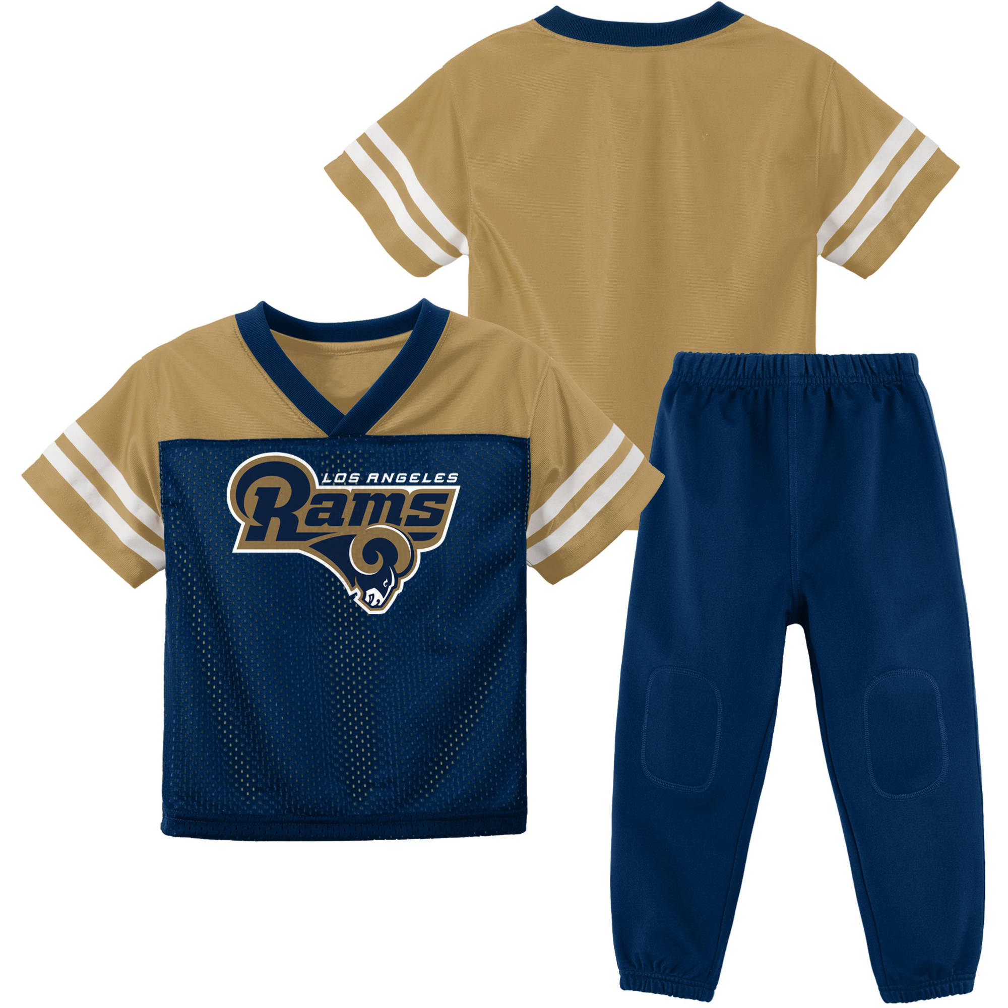 NFL Los Angeles Rams Toddler Short Sleeve Top and Pant Set