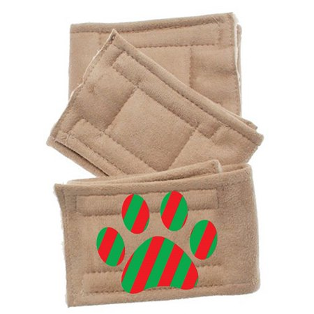 Mirage 500 110 Cpsm Pack Of 3 Peter Pads Christmas Paw Small