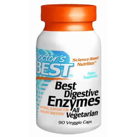 Doctor's Best enzymes digestives 90 Ct