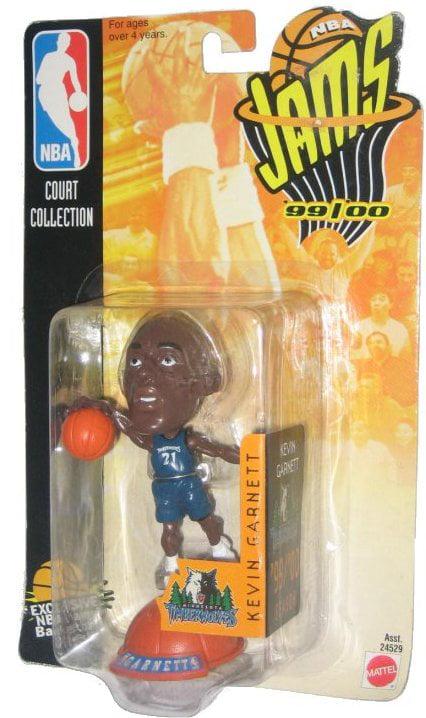 NBA Jams Basketball Kevin Garnett Minnesota Timberwolves 99 00 Mattel Figure by Mattel