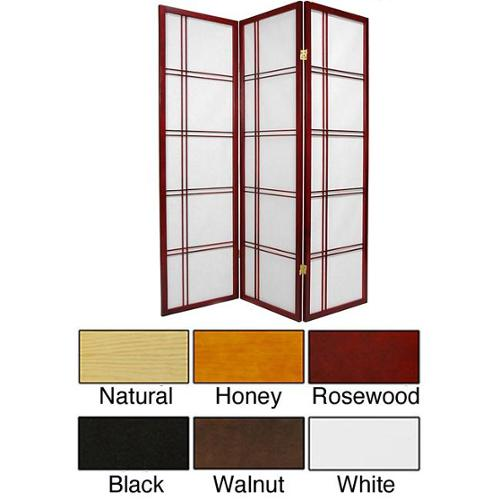 Oriental Home Handmade Double Cross 60-inch Room Divider (China)