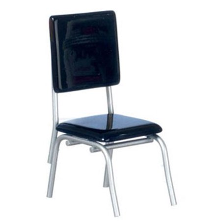 Dollhouse 1950'S Style Black Chair - 1950's Style Halloween Costumes