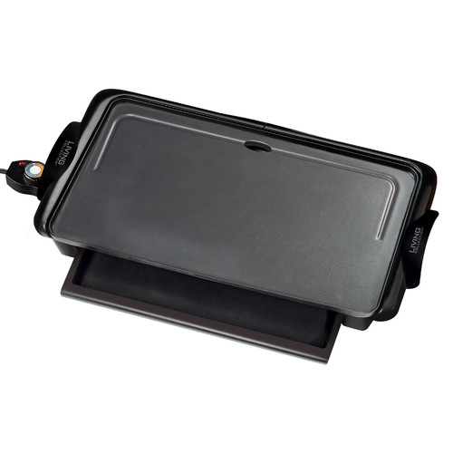 Nostalgia Griddle with Warming Drawer
