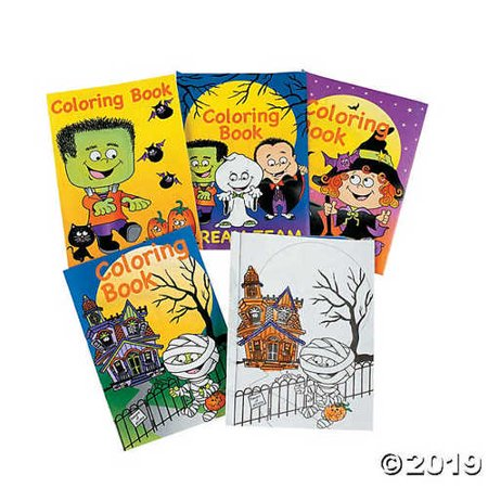 Mini Halloween Fun & Games Books (6 DOZEN) Party and Events - Patriot Place Halloween Events