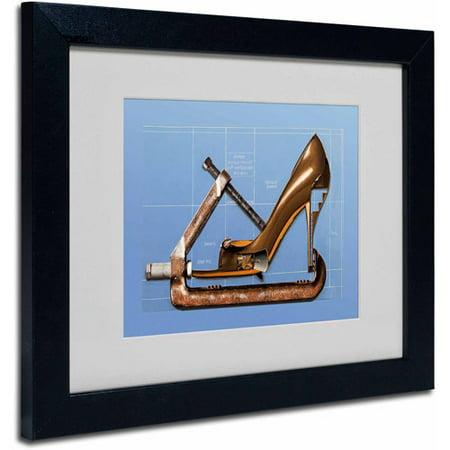 Trademark-Fine-Art-Prada-Construction-by-Roderick-Stevens-Black-Frame