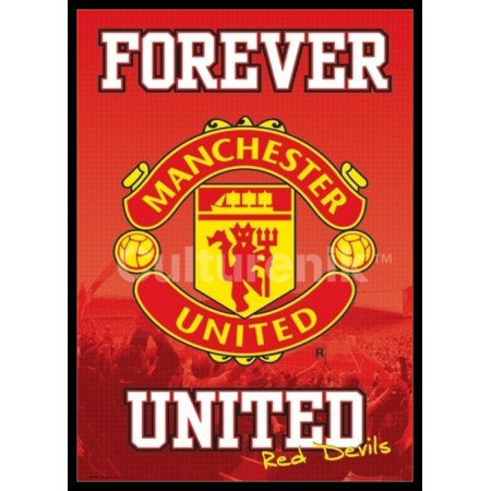 Manchester United Fashion - Manchester United Forever Poster Poster Print