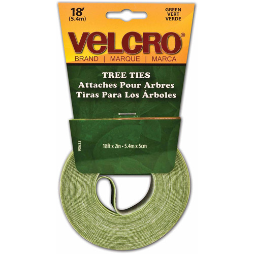 "Velcro Usa Green Lawn and Garden Velcro Tree Tie Tape, 2"" x 18'"