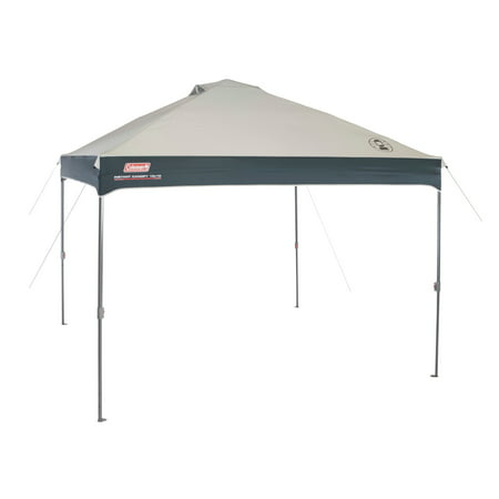 Coleman 10' x 10' Straight Leg Instant CanopyGazebo (100 Sq. ft Coverage)