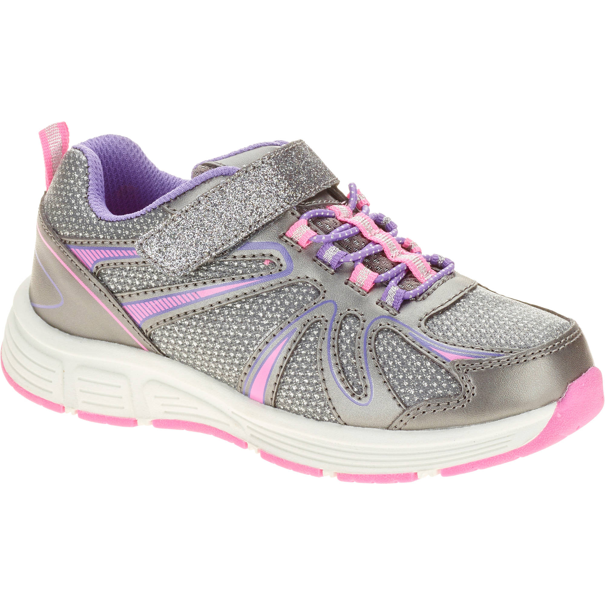 Danskin Now Girls' Glitter Running Shoe by