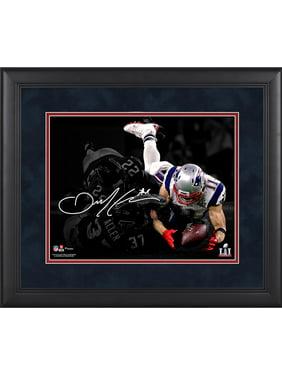 "Julian Edelman New England Patriots Framed 11"" x 14"" Super Bowl LI Champions Spotlight Photograph - Facsimile Signature"