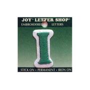"Joy Applique Letter Iron On Cooper 1.5"" Green I"