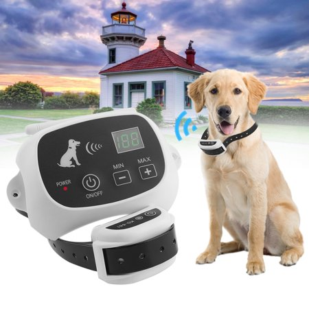 New Arrival Rechargeable & Waterproof Wireless 1/2/3 Dog Fence No-Wire Pet Containment System With Progressive Warning Tone US Plug