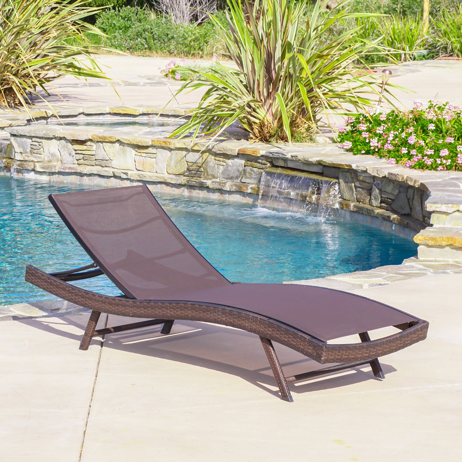 Kauai Textilene Chaise Lounge