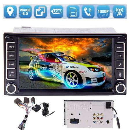 Eincar Car Stereo- In Dash 7 inch Double 2 Din Car Radio Car Audio Head  Unit MP5 Player For Toyota In Dash GPS Navigation AM/FM Touch Screen  Bluetooth