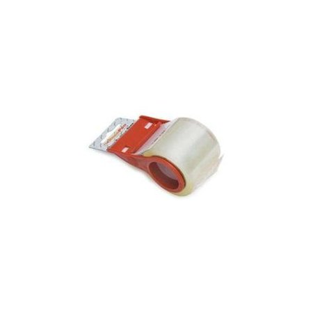RoadPro - RPTD-1001 - 1.89 x 22 Yards Clear Packing Tape with Dispenser Multi-Colored