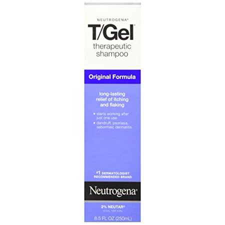 4 Pack - Neutrogena T/Gel Therapeutic Shampoo Original Formula 8.50oz Each