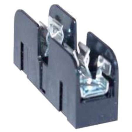 Mersen 60608J Class J Spring Reinforced Fuse Block with Box Connector, #2-14 Al/Cu Wire Size, 60 Ampere, 3 Pole