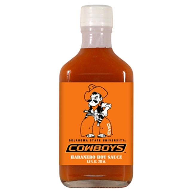 Hot Sauce Harrys 3949 OKLAHOMA STATE Cowboys Hot Sauce Habanero Flask - Flask