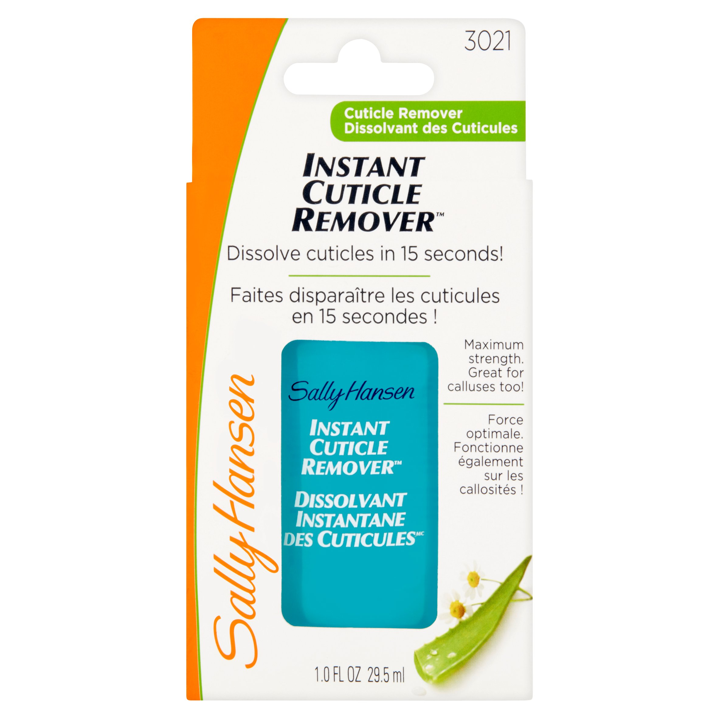 Sally Hansen 3021 Instant Cuticle Remover, 1.0 fl oz