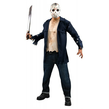 Deluxe Jason Adult Costume - Standard (Jason For Halloween)