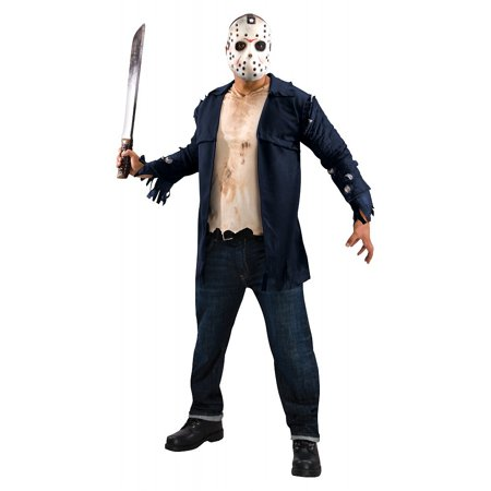 Deluxe Jason Adult Costume - - Jason Voorhees Part 7 Costume