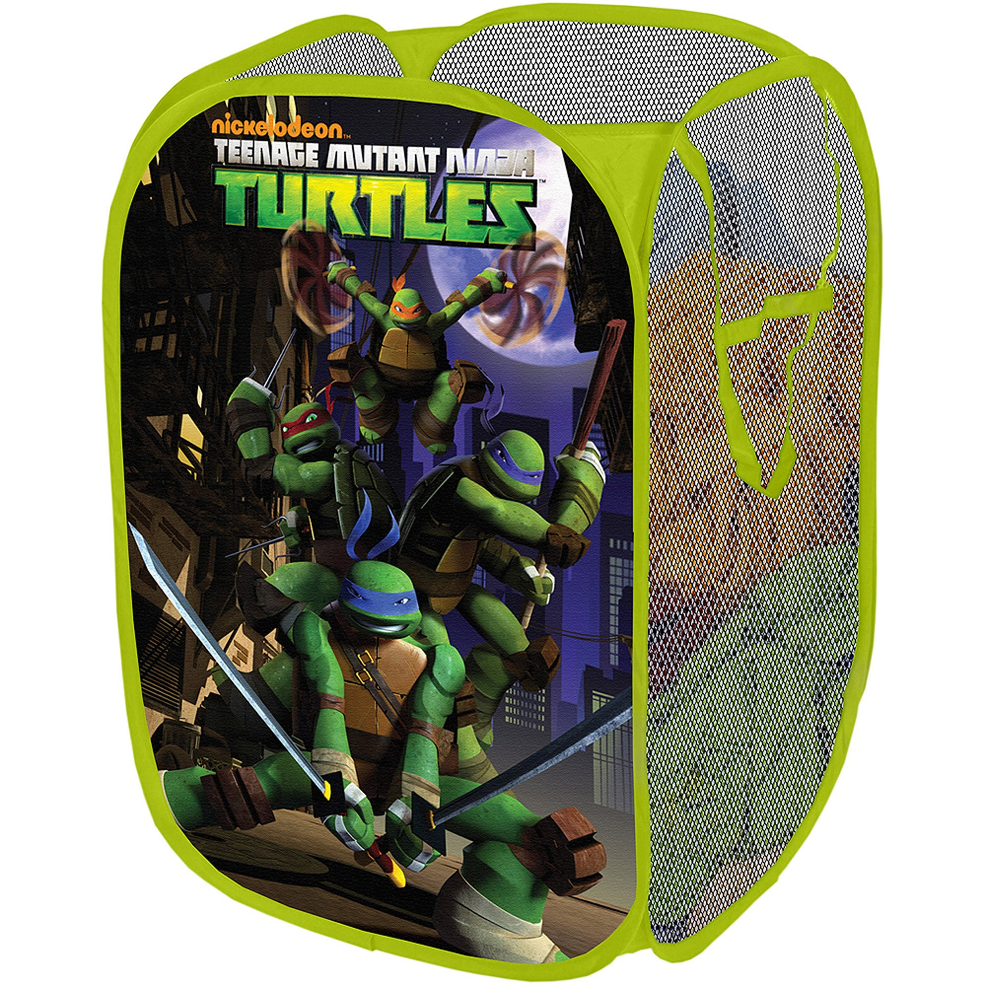 Nickelodeon Teenage Mutant Ninja Turtles Collapsible Storage Pop Up Hamper