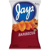 Jays Barbecue Potato Chips, 11.5 oz