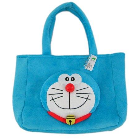 Doraemon Soft Polyester Plush Handbag