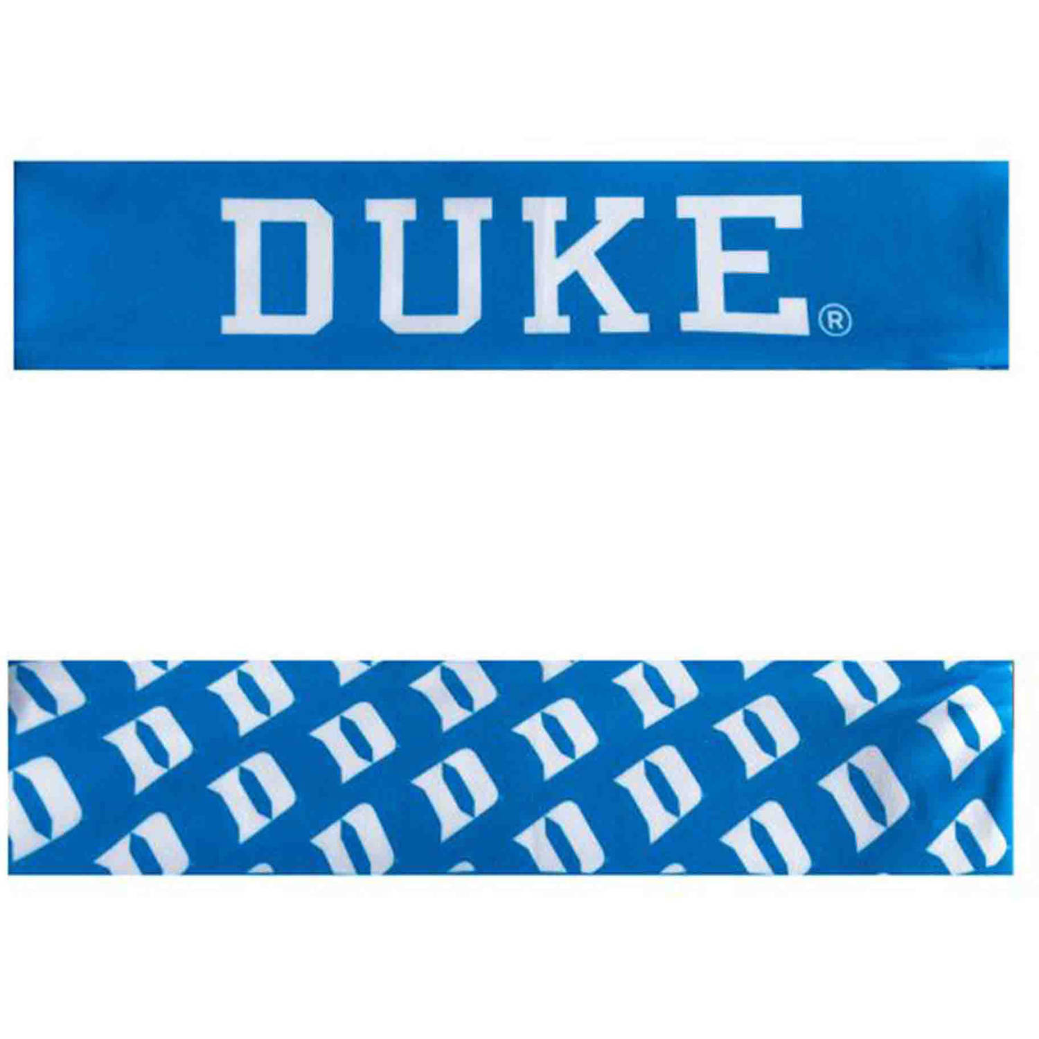 Duke University Reversible Team Color Headband, Narrow