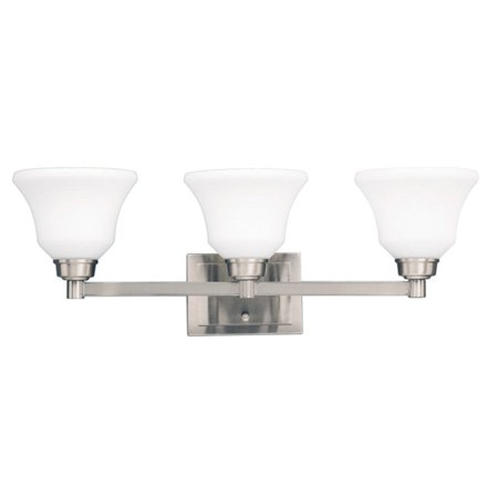 Kichler Langford 5390 3 Light Bathroom Wall Light