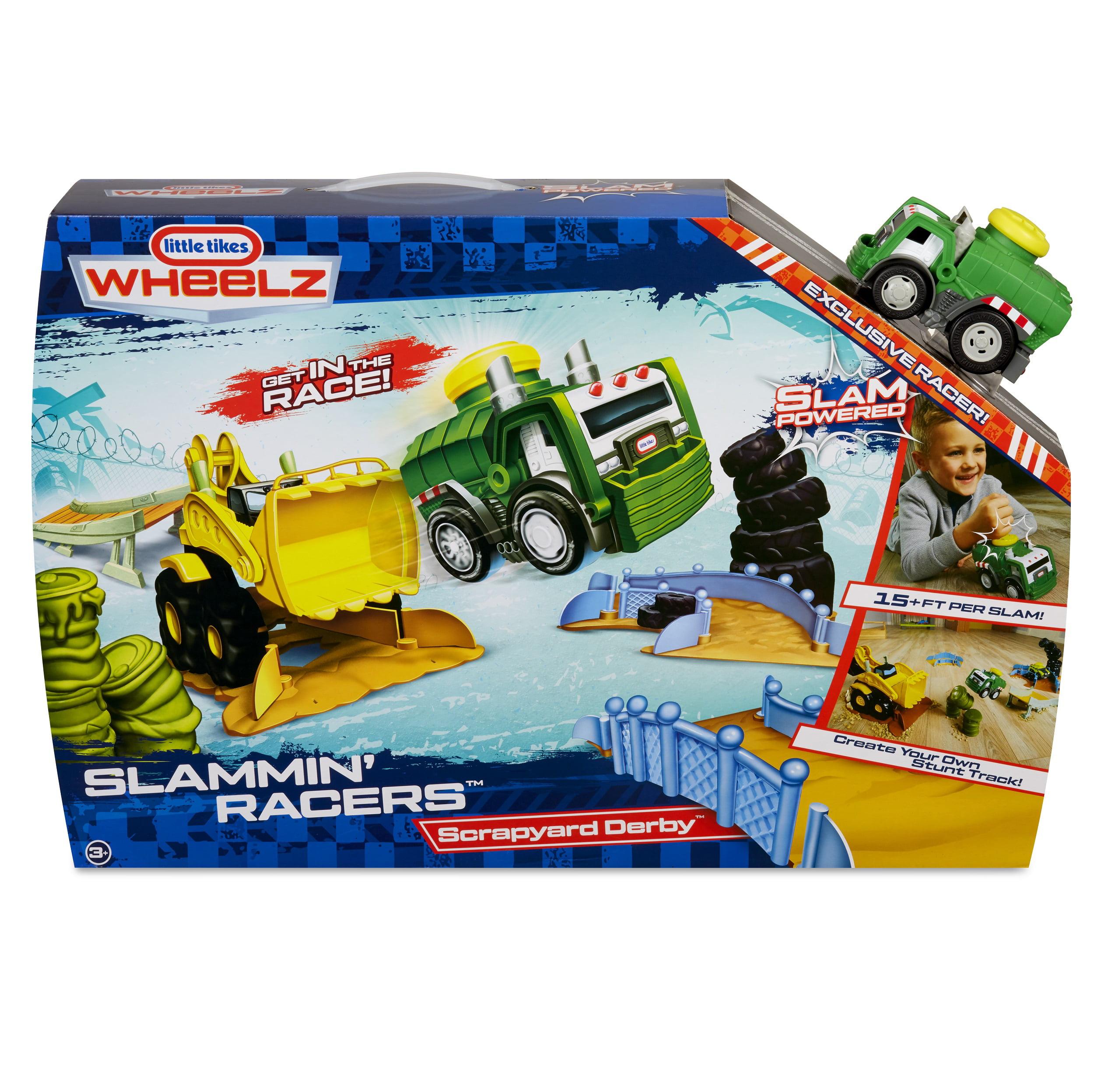Little Tikes Slammin\' Racers Scrapyard Derby - Walmart.com