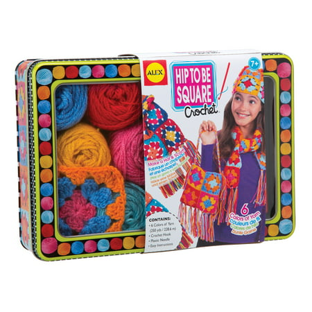 ALEX Toys Craft Hip to be Square Crochet](Arts And Crafts Toys)
