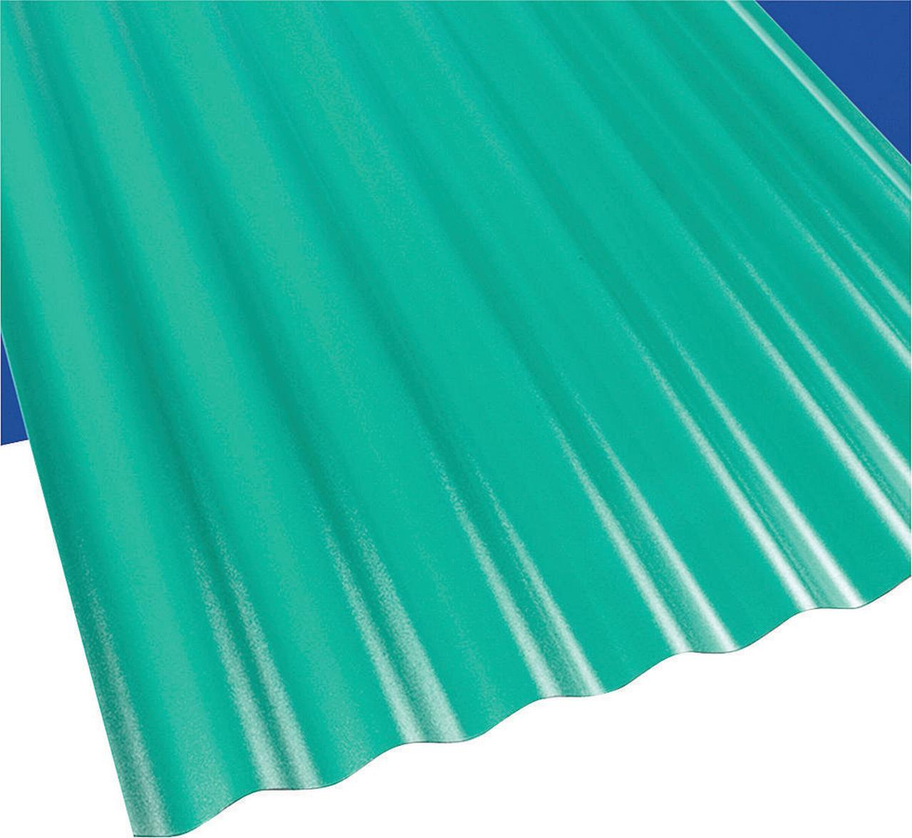 Palram Suntop 108977 Corrugated Roofing Panel, 26 in W x ...