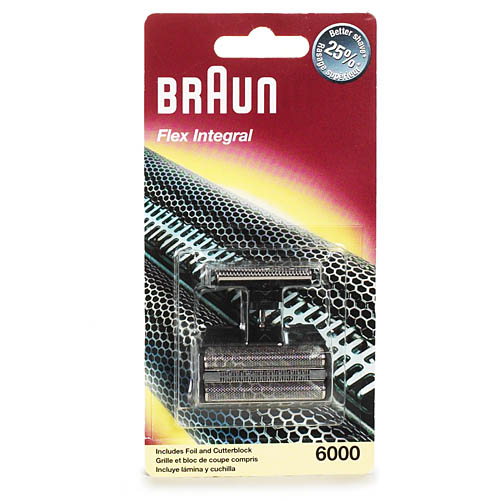 P & G Braun  Shaver Foil and Cutter Block, 1 ea