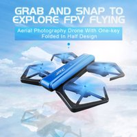 Tuscom JJRC H43WH Blue Crea 720P WIFI Camera Foldable With Altitude Hold RC Quadcopter