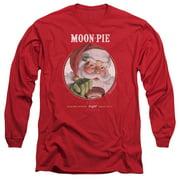 Moon Pie Snacks For Santa Mens Long Sleeve Shirt