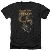 Clash Of The Titans Medusa Head Mens Heather Shirt