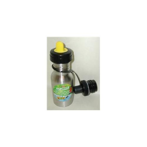 Good Life Gear SF6021 YEL 12 oz.  BPA Free Toddler Water Bottle With 2nd Sports Cap - Yellow