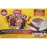 Nestle Abuelita Mexican Style Instant Hot Chocolate Mix, 8 oz, (Pack of 12)