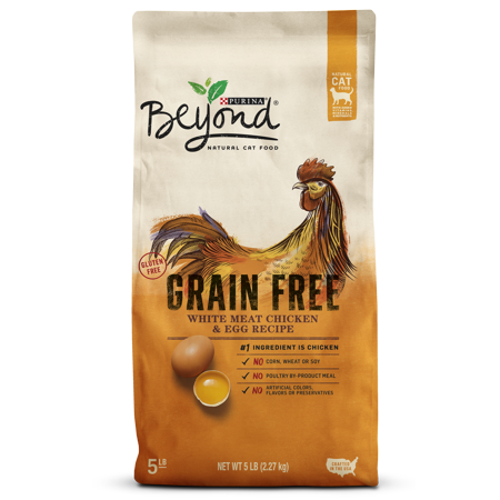 Purina Beyond Grain Free White Meat Chicken & Egg Recipe Adult Dry Cat Food, 5 lb - Halloween Egg Recipes