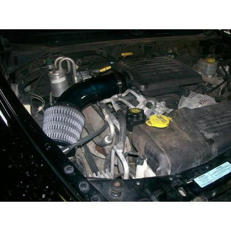 Dodge Dakota Intake - Dodge Dakota 4.7L V8 Performance Air Intake Kit Powertech Upgrade