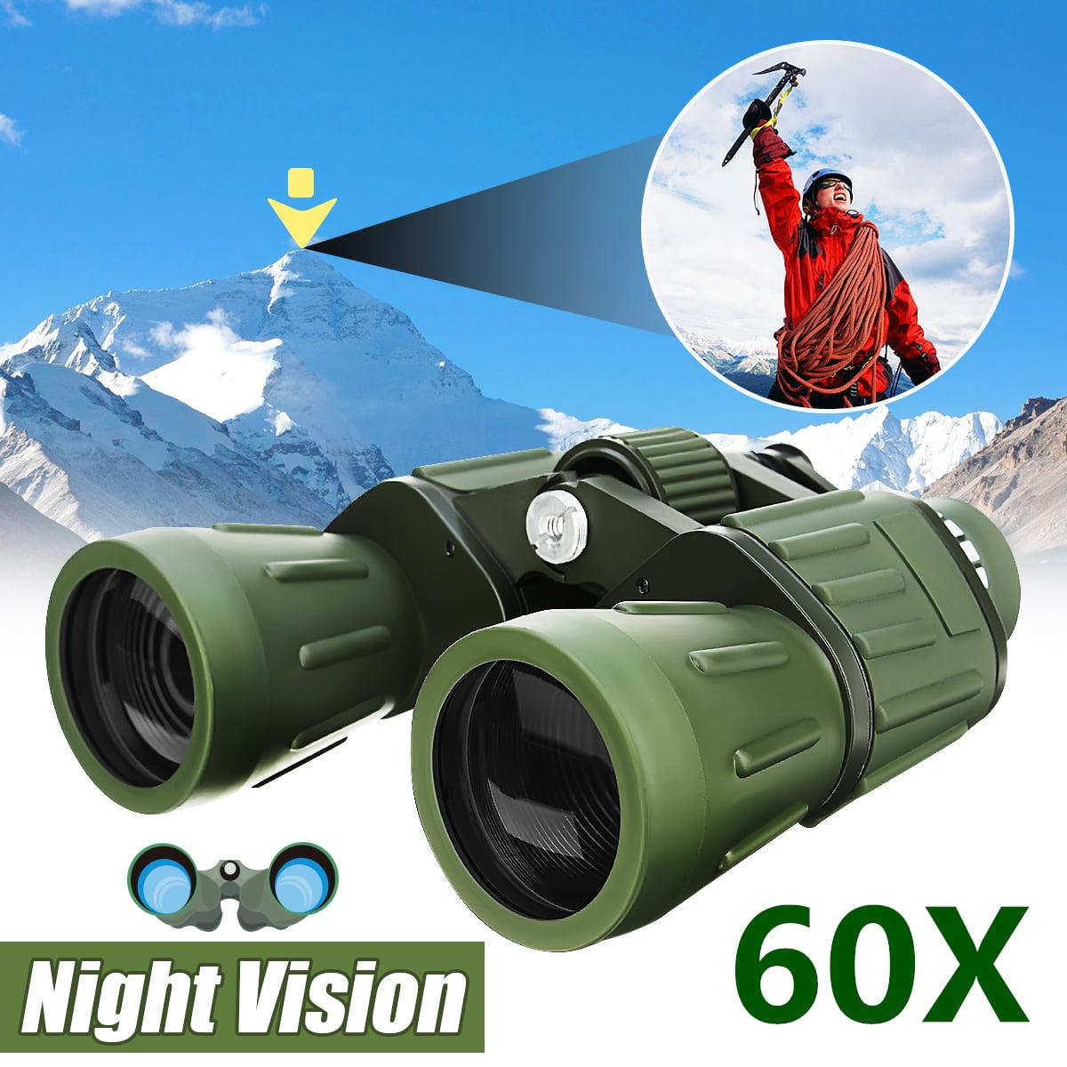 60x50 Zoom Military Army High Power HD Binoculars Night Vision Anti UV Adjustable Handheld Binocular Telescope Hunting... by