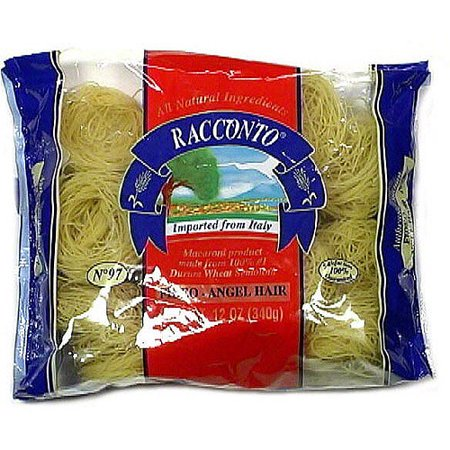 Fideo Pasta - Racconto Fideo Angel Hair Pasta, 12 oz (Pack of 16)