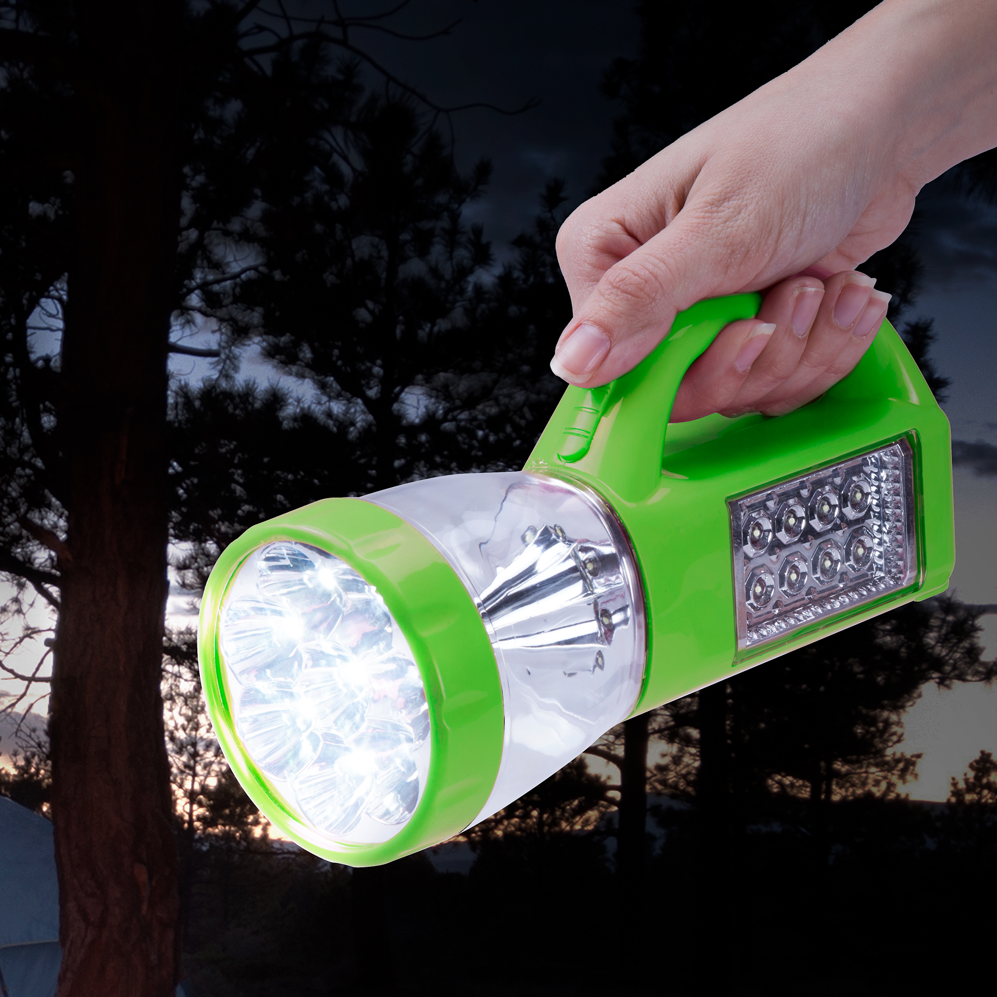 3 in 1 LED Lantern, Flashlight and Panel Light, Lightweight Camping Lantern By Wakeman Outdoors (For Camping Hiking... by Trademark Global LLC