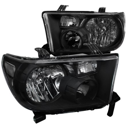 Spec-D Tuning 2007-2013 Toyota Tundra/ 2008-2014 Sequoia Replacement Headlights Lh + Rh W/ 2007 2008 2009 2010 2011 2012 2013 (Left +