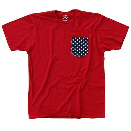 Us Soccer Stars Pocket T Shirt