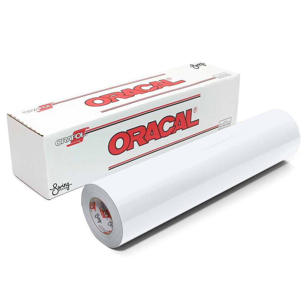 Oracal 651 Glossy Vinyl Rolls - White
