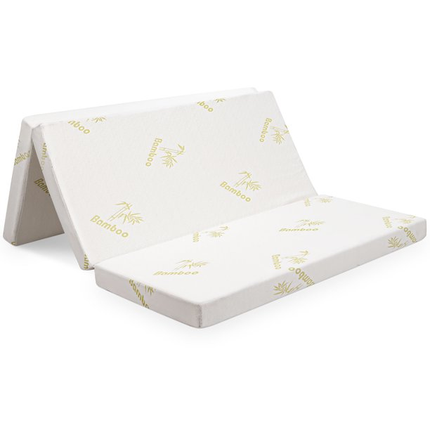 Queen Size Folding Foam Mattress Tri