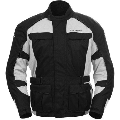 Tourmaster Saber Series 3 3/4 Textile Jacket Silver SM