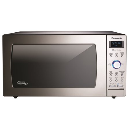 Panasonic 1.6-Cu. Ft. 1250W Built-In / Countertop Cyclonic Wave Microwave Oven with Inverter Technology in Stainless